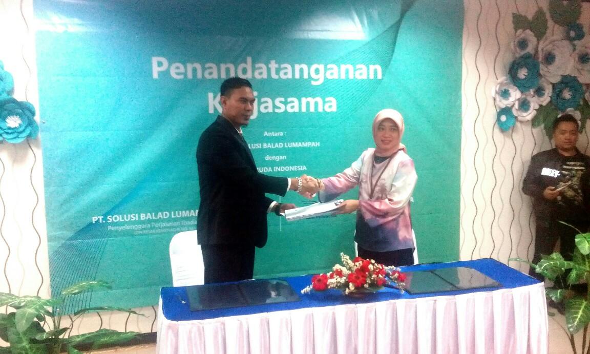 PT Solusi Balad Lumampah (SBL) Laksanakan Kerjasama dengan Maskapai Garuda Indonesia