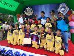 Juara sepakbola Danpussenarhanud Cup