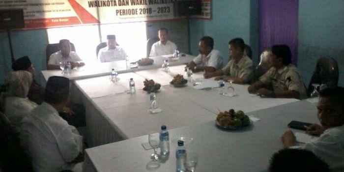 Ketua DPD Partai Gerindra Jawa Barat, H Mulyadi, saat road show ke DPC Partai Gerindra Kota Banjar