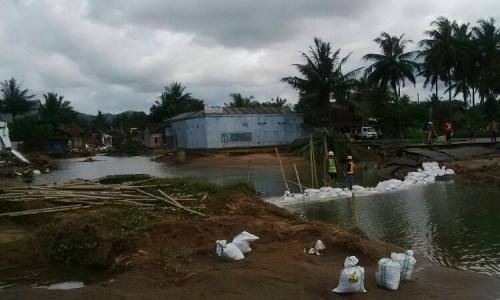 Danrem 081 tinjau lokasi longsor dan banjir bandang di Kabupaten Pacitan