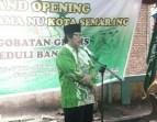 H Anashom, Ketua PCNU Kota Semarang.
