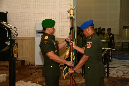 5 jabatan strategis Kodiklatad diserahterimakan, diantaranya Komandan Pusdikpom, 20 Maret 2018