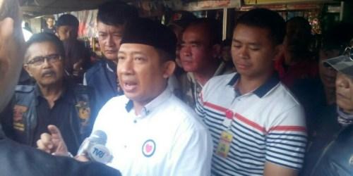 Calon Wakil Walikota Bandung nomor urut 3, H Yana Mulyana.