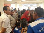 Plh Walikota Semarang mengunjungi stand Komunitas Difabel di Ormas Expo