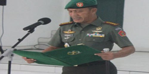 Danpusdikkum Kolonel Chk I Nyoman Suparta