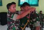 Penutupan kegiatan Lidpamfik di Pusdikpom Kodiklatad, Cimahi, (25/4/2018).