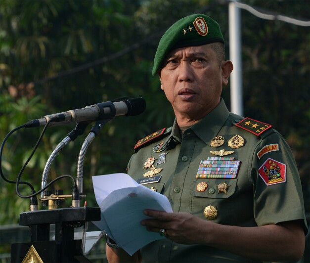 Wadan Kodiklatad Mayjen TNI Bachtiar