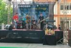 Gelaran musik di Ecofest Fakultas Ekonomi Unwahas