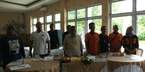 Sebagian dari tim perumus debat publik Calon Walikota dan Wakil Walikota Banjar pada Forum Group Discussion yang digelar KPU Kota Banjar