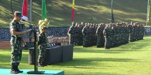 deral TNI Mulyono melalui Wakasad TNI Letjen TNI Tatang Sulaeman membuka gelaran Lomba Peleton Tangkas TNI AD tahun 2018, Senin (30/4/2018).