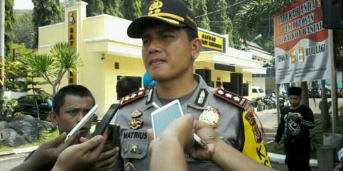 Kapolres Banjar, AKBP Matrius.