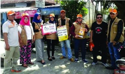 KPU Sosialisasi Pilkada Serentak di Pasar