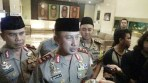 Kapolda Jabar Irjen Pol Drs. Agung Budi Maryoto, M.Si., memberikan keterangannya terkait dengan kesiapan arus mudik dan arus balik, Kamis (7/6/2018).
