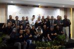 Walikota Semarang dan Wakil Walikota Semarang berfoto bersama pengurus Kadin seusai kegiatan di Aston Inn jalan Pandarang, Kota Semarang. (doc.arh)