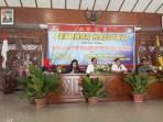 Seminar Nasional dengan tema Menangkal Radikalisme Dan Ekstrimisme di Pendopo Kabupaten Karanganyar sekaligus kegiatan penandatangan MoU antara FKPT Jateng dan YP 17 Surakarta, Kamis (7/6/2018).