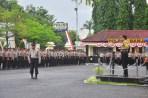 Polres Banjar Gelar Apel Pasukan Pengamanan Pilkada
