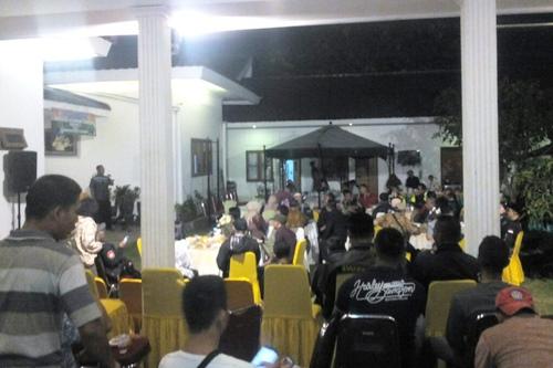 Silaturahmi dan halal bihalal Dansektor 21 Satgas Citarum Harum bersama Jurnalis Peduli Citarum