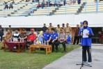 Walikota Banjar Membuka Kompetisi Sepakbola Liga 3 Zona Jabar Group B