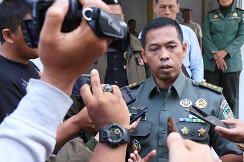 Kapendam III Siliwangi Letkol Arh GTH. Hasto Respatyo, ST.