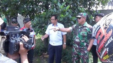 Dansektor 21 Satgas Citarum Berang, Sungai Cibaligo Hitam Gara-gara Buangan Dari PT CGN