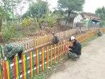 Satgas Citarum Sektor 21 Subsektor Rancaekek Bangun Taman Di Bojong Baraya