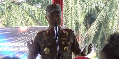 Kapolda Jabar Irjen Pol Agung Budi Maryoto di gelaran Family Gathering bersama insan media