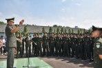 Danrindam III/Siliwangi Tutup Pendidikan Kejuruan Tamtama Infanteri TNI AD 2018