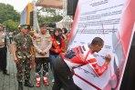 Deklarasi Damai Komunitas Motor Trail Dan Ulin Bareng Kapolda Jabar