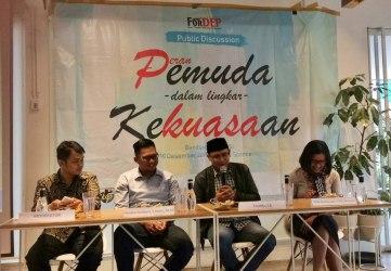 FORDEP Gelar Diskusi Publik Peran Pemuda Dalam Lingkar Kekuasaan