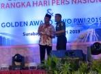 Pangdam III/Siliwangi Menerima Golden Award SIWO PWI Di HPN 2019 Surabaya
