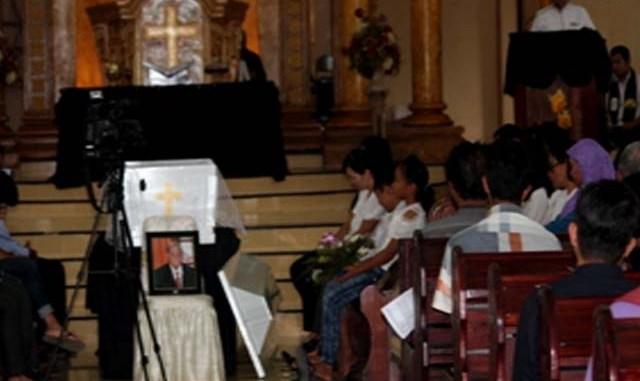 GAD F. SILAM Hadiri Pemakaman Alm. Bapak KORNELIUS SOFYAN MANJUNG
