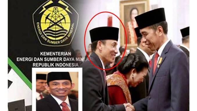 Menteri ESDM dan presiden Jokowi