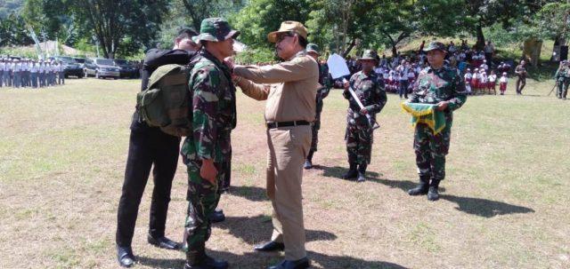 Bupati Manggarai di acara pembukaan TMMD ke-104 Kodim 1612 Manggarai