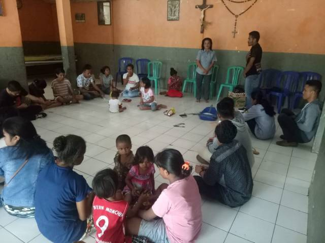 Imaper Kupang kunjungan ke Panti Sonaf Maneka Lasiana