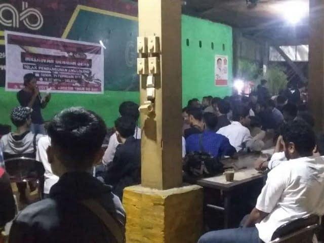 aksi solidaritas Front Mata Mera Makassar
