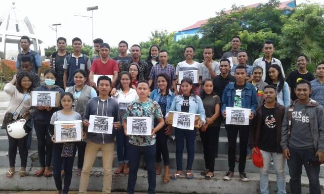 Mahasiswa Manggarai-Kupang gelar aksi peduli bencana Mabar