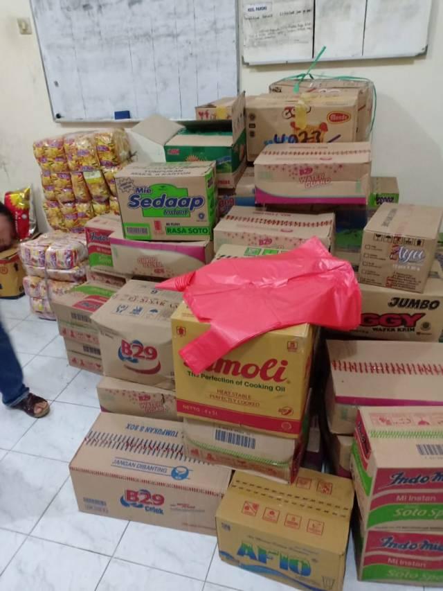 bantuan umat Paroki Kristus Raja Ruteng untuk korban bencana di Mabar