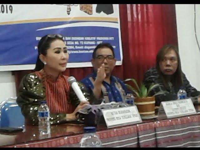 Julie S Laiskodat Ketua Dekranasda NTT