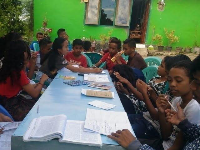 PKSE Undana Kupang gelar bimbingan belajar