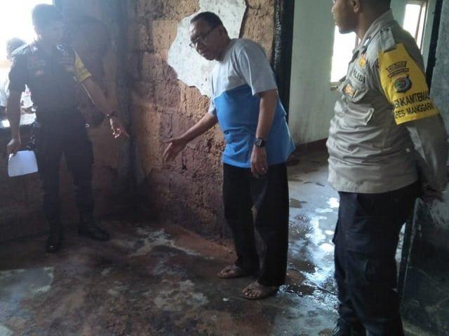 kasus kebakaran di pastoran paroki Tanggar