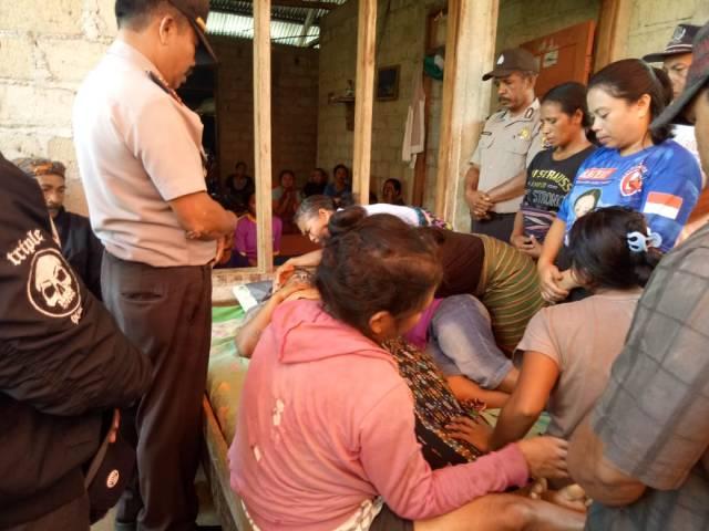 korban meninggal gantung diri di Cibal, Manggarai, NTT