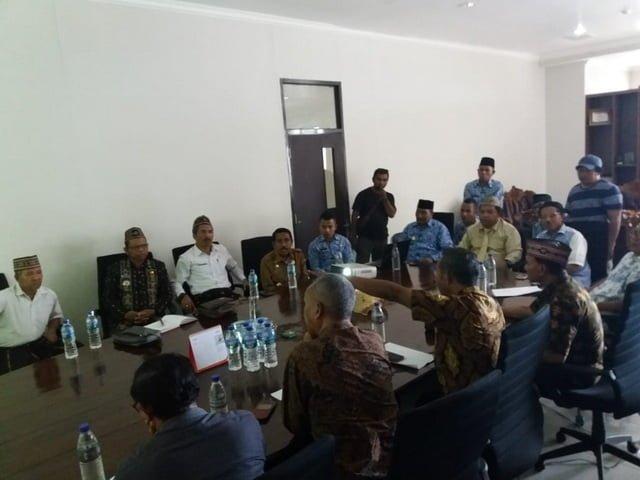 Pertemuan tokoh Manggarai Raya bersama Pemkab Matim terkait perbatasan