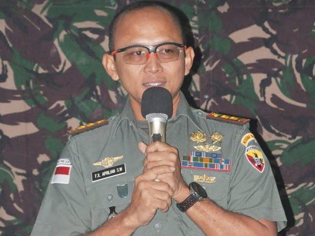 Dandim 1604 Kupang Letkol. Kav. F.X Aprilian Setyo Wicaksono