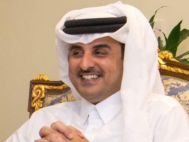 Emir Qatar Syekh Tamim bin Hamad Al-Thani