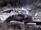 Salah satu pondok yang diduga dibakar di dataran Gising Wukir Elar Selatan