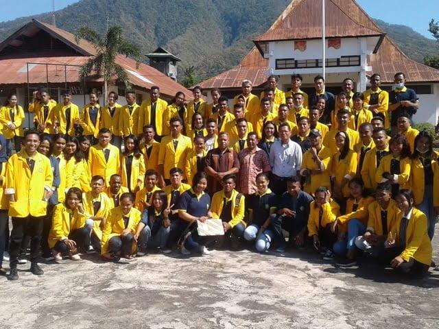 Mahasiswa KKN Undana Kupang di Flores Timur