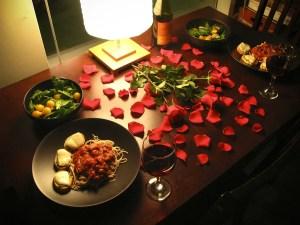 mesa petalos