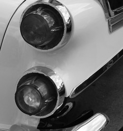 57 dodge tail lights right bw jpg  [ 629 x 1510 Pixel ]