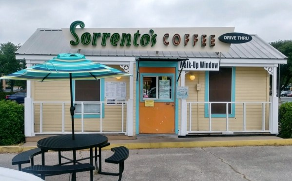 Sorrento's Coffee Storefront