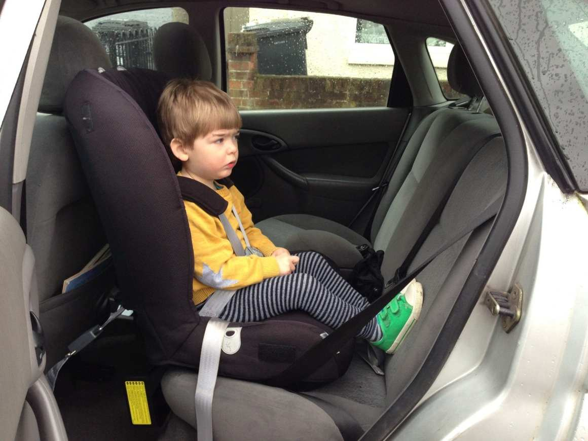 britax two way elite in a ford focus